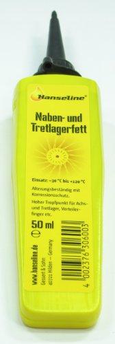 Hansaline CBK-MS Tretlager + Nabenfett/Kugelllager + Abschmierfett 50 ml in der Tube