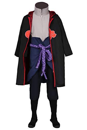 Enhopty Uchiha Sasuke Coat Pants Outfits Halloween Carnival Suit Cosplay Kostüm Maßanfertigung