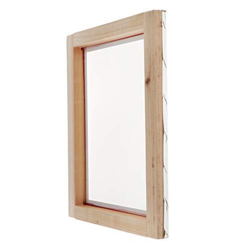 KESOTO Siebdruckrahmen Naturholzrahmen Formrahmen für Textildruck Siebdruck aus Holz - 30 x 40 cm, 43 t