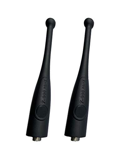 2 X NAR6595A 7-800Mhz GPS Stubby Antenna for Motorola APX 764-870 MHz APX4000 APX6000 APX6000XEAPX7000 APX7000XEAPX8000XE Two-Way Radio