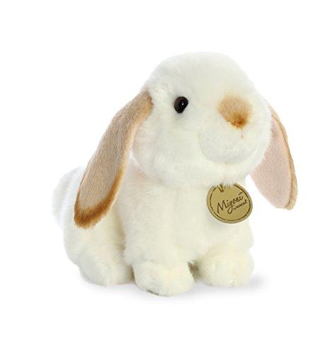Aurora - Miyoni - 8' Lop Eared Rabbit with Tan Ears, White and Tan