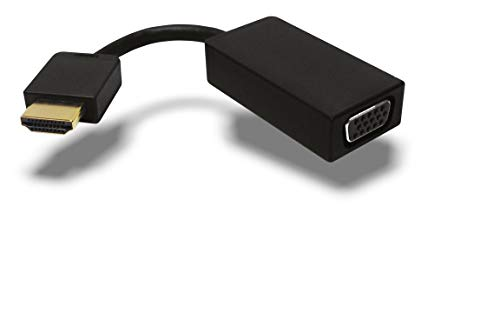 Icy Box IB-AC502 Video-Adapter HDMI auf VGA, Full HD (1920x1080), Schwarz