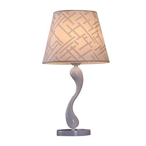 Lámpara de Cabecera Estudio de estilo moderno Moda cisne lámpara de mesa de la sala dormitorio lámpara de cabecera de la pintura de hardware Mensaje tela de la lámpara lámpara de mesa cubierta de la l