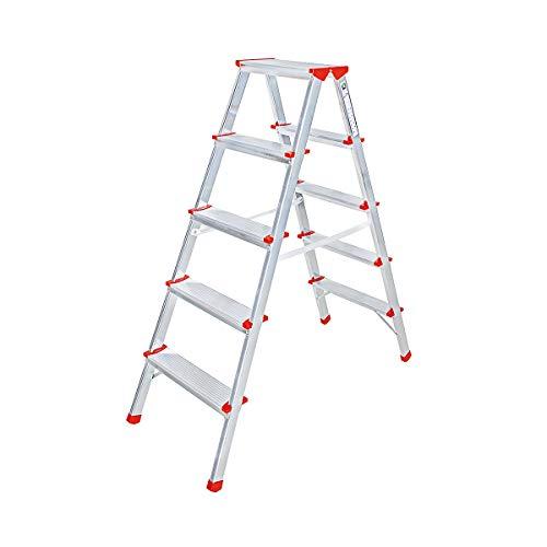 Standaard – staande ladder aan beide zijden beloopbaar werkhoogte tot ca. 2,80 m.