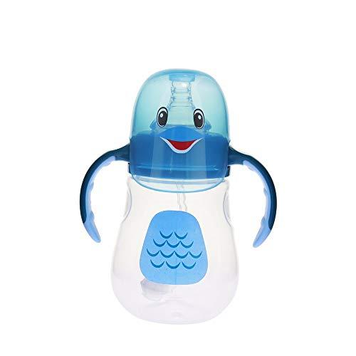 ZXAOYUAN Primera Elección Biberones, Control De Temperatura, BPA Libre, 280 Ml, Ventilación Anti Colic