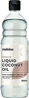 MELROSE Premium Liquid Coconut Oil, 500 ml