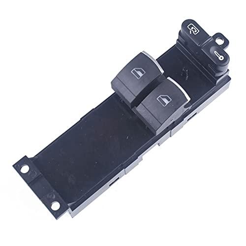 LiCHANGZHU LCBIAO Master Electronic Window Control Interruptor Ajuste para VW Golf MK4 P/ASSAT B5 para Seat Leon Toledo 2 Puerta 1J3