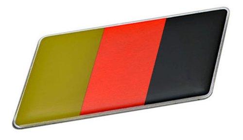GERMAN GERMANY FLAG Emblem Badge Nameplate Decal Rare for Mercedes Benz A B C CL CLC CLK CLK-GTR CLS E G GL GLK M ML R S SL SLK SLR McLaren SLS V Class European Euro