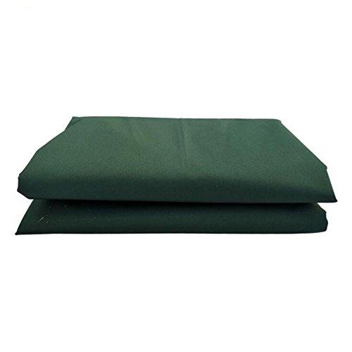 MEIDUO Bâches Toile de Tente de bâche de Polyester Toile imperméable de Tente Tissu Oxford imperméable Vert foncé 400g / m2-0.5mm pour l'extérieur (Taille : 5 * 7m)