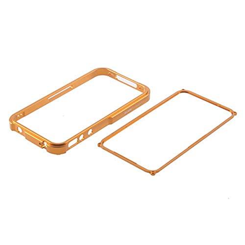 Carcasa de metal para iPhone 4 y 4S, diseño exquisitamente duradero, color dorado