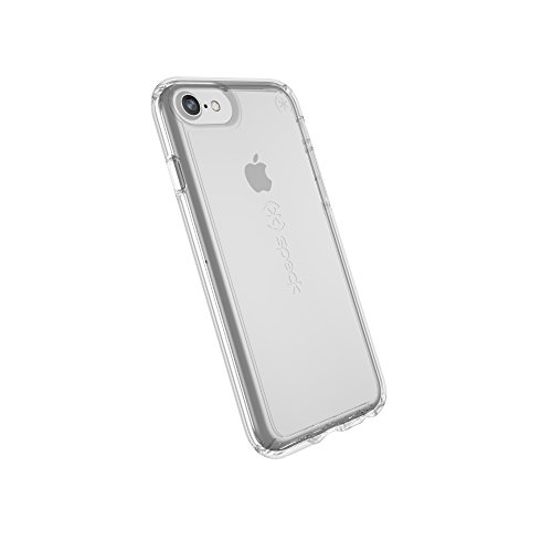 Speck Products Gemshell Cell Phone Case for iPhone 8 (also fits iPhone 7, iPhone 6S) - Clear/Clear