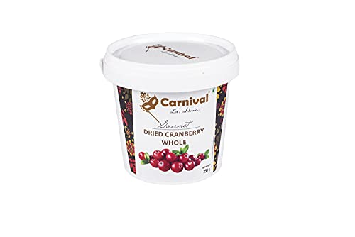 Carnival Cranberry Whole, 250g