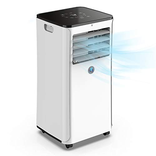 JHS A016-10KR/B1 10,000 BTU Smart Portable Air Conditioner Wi-Fi 3-in-1 Floor AC Unit