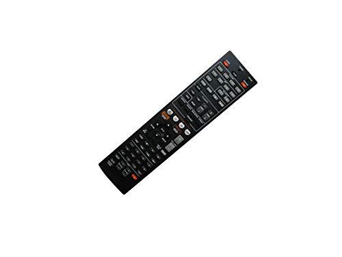 Hotsmtbang Ersatz-Fernbedienung für Yamaha ZF303700 RAV498 RX-V575 RX-V575BL HTR-5066 RX-V475 RX-V475BL Netzwerk AV Receiver