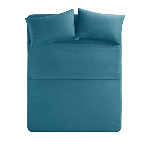 teal sheets twin - 4