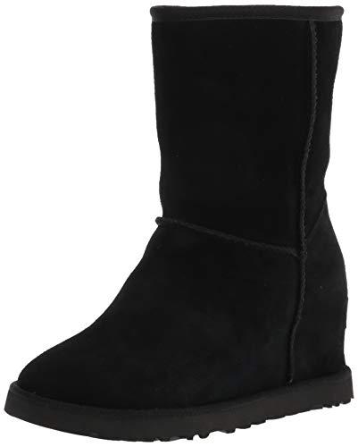 UGG Damen Classic Femme Short winter boots, Schwarz, 37 EU