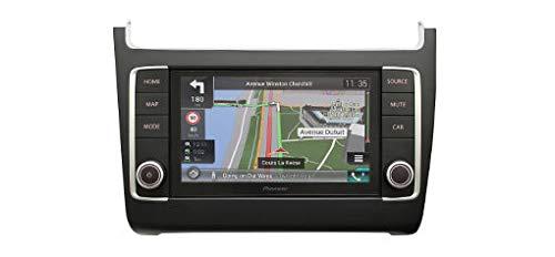 Pioneer AVIC-EVO1-PL2-VAL | Navigatie met Apple CarPlay en Android auto. VW Polo 6C vanaf 2014 in satijn zwart | DAB+ - Bluetooth autoradio