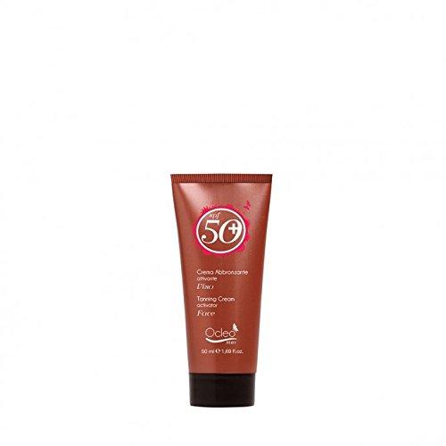 La meilleure Protection solaire Crème abbronzante SPF 50 + Tanning Cream 50 ml Sun adapte pour le visage et les parties les plus délicates dans l'exposition au soleil