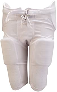 Athletic Specialties Youth Integrated Football Pant  with 7-Piece Sewn-In Pads (X-Small)