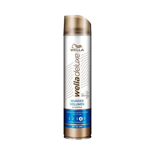 WELLA Deluxe Wunder Volumen Haarspray extra stark, 6-er Pack (6 x 250ml)