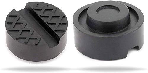 TK Gruppe Timo Klingler Wagenheber Gummiauflage stabil & universal nutzbar für Reifenwechsel am Wagenheber für PkW aus Gummi (5X)