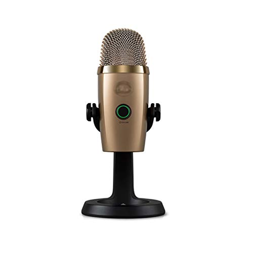 ZNBJJWCP Micrófono USB digital de condensador para juegos de podcasting Streaming de llamadas de grabación de música perfecta para podcasting (color: C)