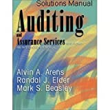 Auditing and Assurance Services: An Integrated Approach (Solutions Manual) Ninth Edition