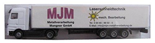 MJM Metallverarbeitung Mangner GmbH Nr. - Laserschneidtechnik - MB Actros - Sattelzug