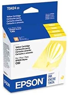 Epson America T042420 Stylus C82 Yellow