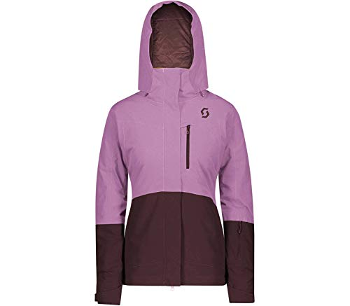 Scott W Ultimate Dryo 10 Jacket Colorblock-Pink, Damen Regenjacke, Größe S - Farbe Cassis Pink - Red Fudge