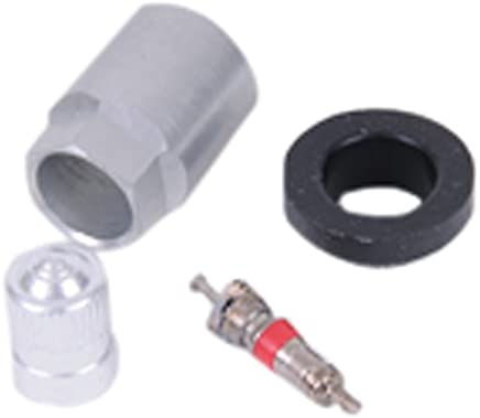 Valve Stem Kit with Cap TPMS WheelArmor 5 PC Tire Pressure Monitoring System Stem and Bolt Replace Leaking or Damaged Tire Valves with One Year Limited Warranty