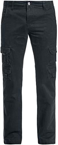 RED by EMP Army Vintage Trousers Männer Cargohose schwarz 4XL 100% Baumwolle Basics