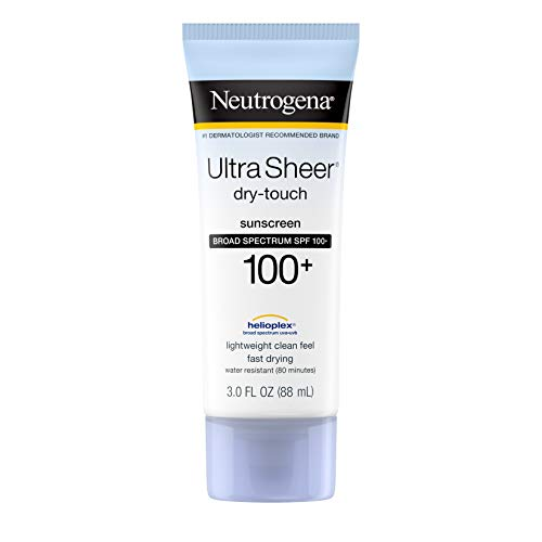 Neutrogena Ultra Sheer Dry-Touch Water Resistant and Non-Greasy Sunscreen Lotion with Broad Spectrum...