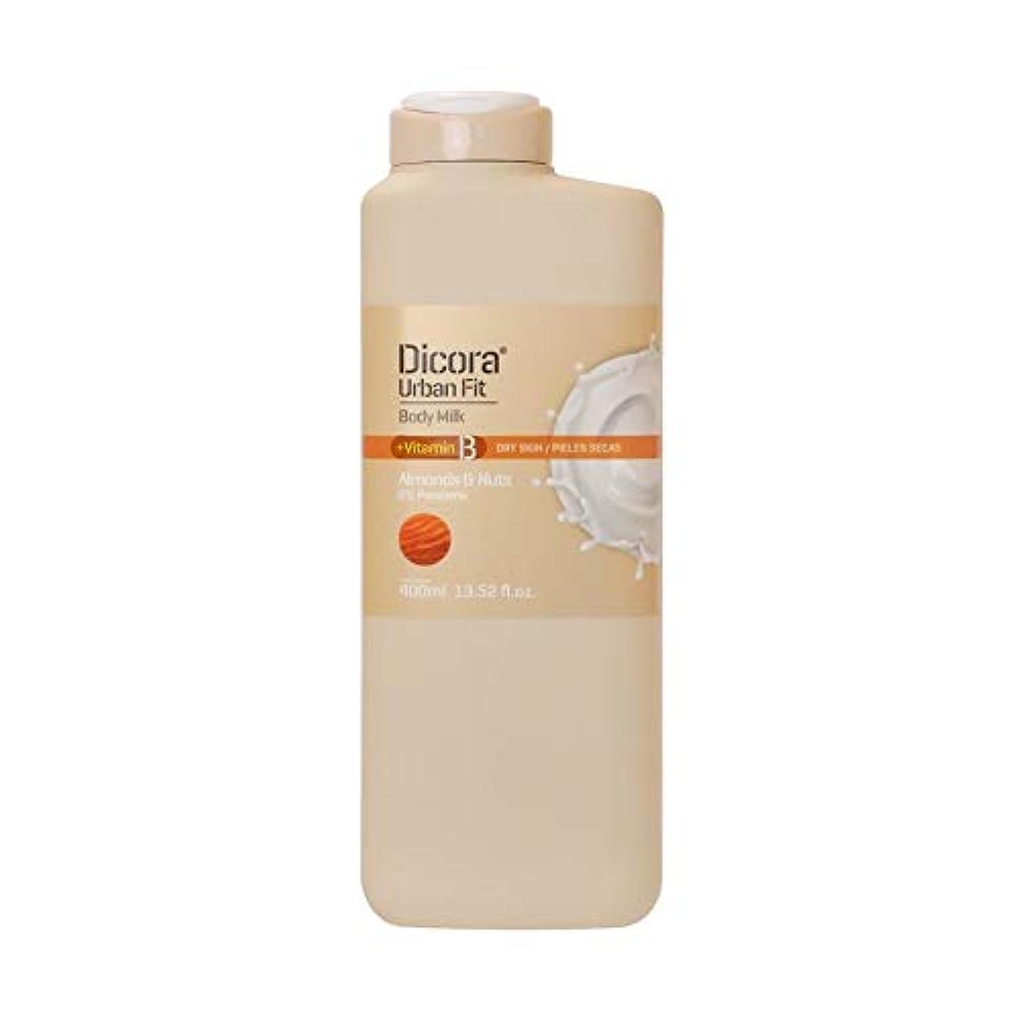 三ペグ持続するDicora(ディコラ) ディコラ アーバンフィット シャワージェル MK&ML 400ml ボディクリーム アーモンド & ナッツの香り