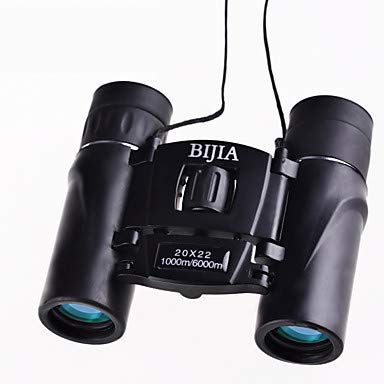 WYLDDP 20 X 22 mm Jumelles Imperméable Haute Définition Générique Entièrement Multi-traitées BAK4 Plastique Caoutchouc Métal/Chasse/Observation d'oiseaux/Vision Nocturne