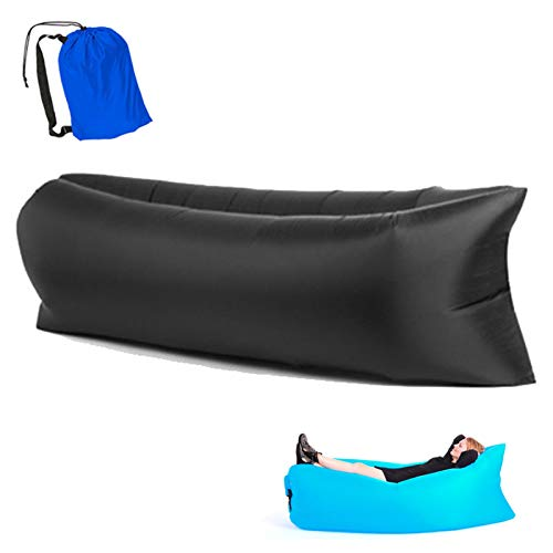XSCYLWJ Inflatable Lounger Hangout Sofa with Travel Bag The Portable Inflatable Air Lounger Couch is Perfect for Indoor and Outdoor Use for Camping Beach & Lake Or Pool
