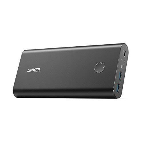 ANKER Powercore + 26,800 mAh Powerbank mit Power Delivery, USB Externer Akku unterstützt Schnelle Aufladen und 30 W Ausgang für MacBooks