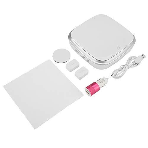 Qkiss Portable Desktop Car Diffuser, USB-luchtbevochtiger, stille werking met duidelijke functie, voor thuis en op kantoor, ultradun, modieus.meteen handleiding