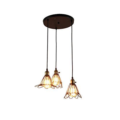 Hanglamp voor vogels in restaurant, slaapkamer, kledingkast, kleine kroonluchter, ijzeren kooi