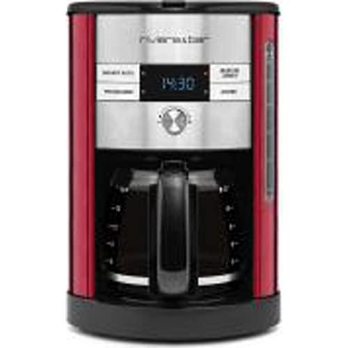 Riviera & Bar CF547 A Autonome semi-automática - Café (Filtre autonome, Café, Noir, Rouge, Pichet en acier inoxydable, Plastique, Acier inoxydable, Boutons, Rotatif)