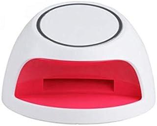 Lámpara de uñas para esmalte de gel, secador de uñas con UV/LED, funciona con batería, sensor de infrarrojos Blanco