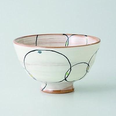 Japanese porcelain Hasami ware. Set of 3 marutsunagi keiryo blue meshiwan bowls. hsm-
