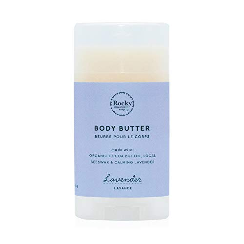 Rocky Mountain Soap Co - Lavender Natural Body Butter   Body Butter for Dry Skin   Shea Butter Cream   Prevents Itchy Skin   Body Moisturizer   100% All Natural   Cruelty Free