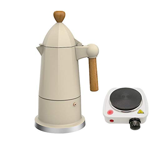 Amazing Deal Coffeepots Moka Pot Espresso Coffee Pot Electric Stove Boil Concentrated Drip Filter Po...