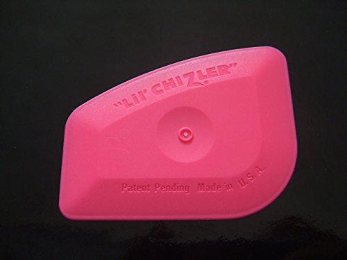 origineel ***Lil Chizler*** Speciale rakel voor kleuren/raamfolie (roze) A & D design