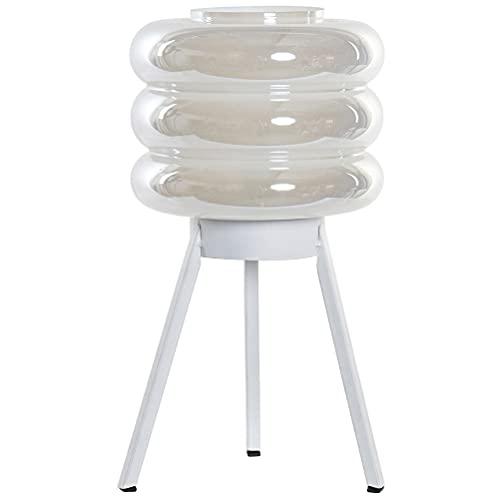 Lámpara de cristal irisado portátil LED 32 cm