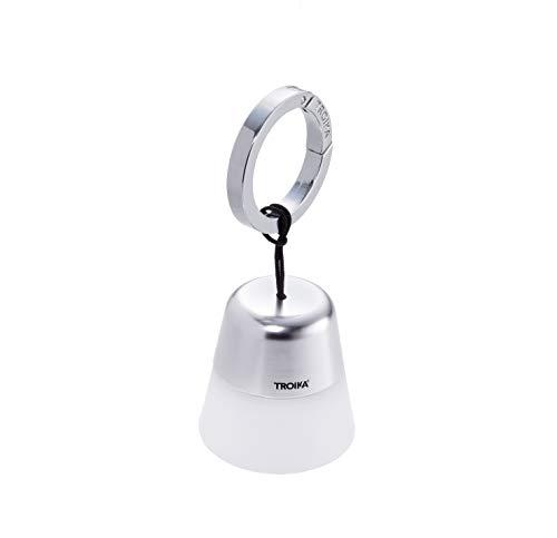 Troika - Pendente per la borsa e torcia tascabile, LED con luce bianca