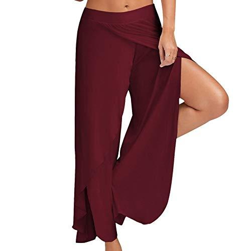 nonbranded Pantalones deportivos de fitness paramujerPantalones de yoga Pantalones anchos para mujer Moda de baile para mujer