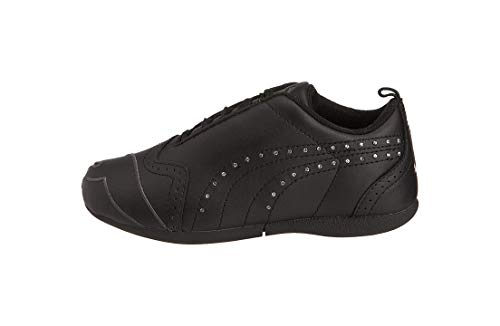PUMA Youth/Kid's Shoes Sela Diamond Black Sneakers (1)
