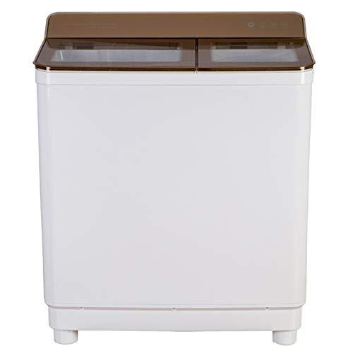 Wasmachine halfautomatische 12 kg Elution dubbel spuiten het dekglas (transparant goud) serie spoelen: 7,5 kg cilinder
